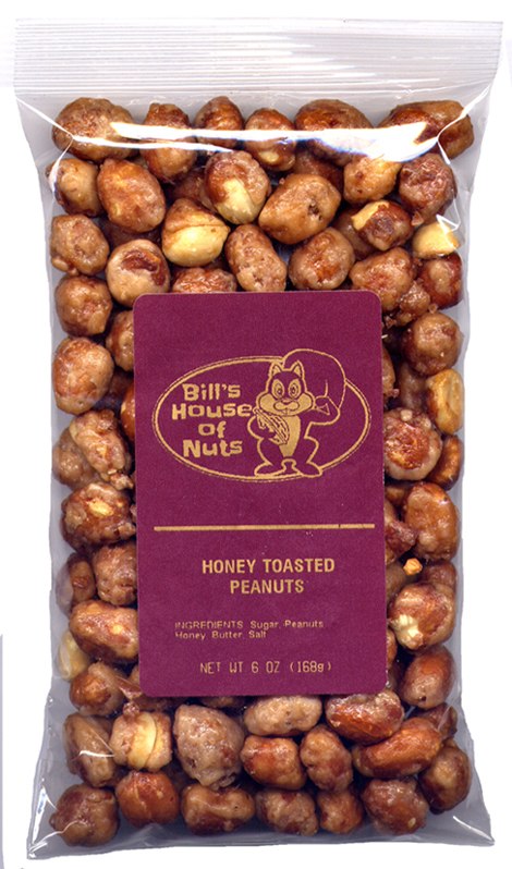 Peanuts, Honey Toasted - 6 oz package