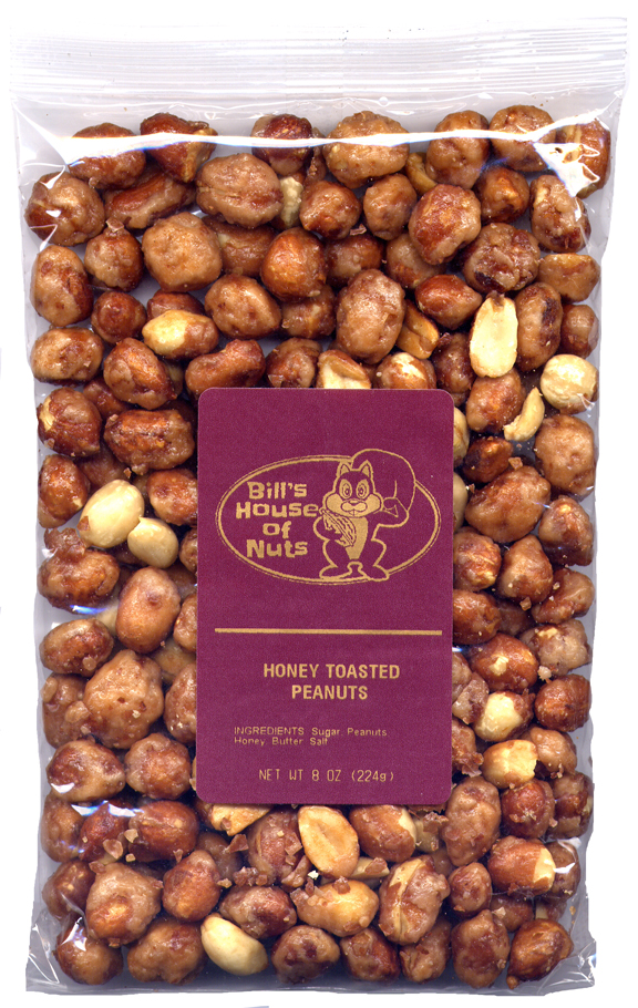 Peanuts, Honey Toasted - 8 oz bags