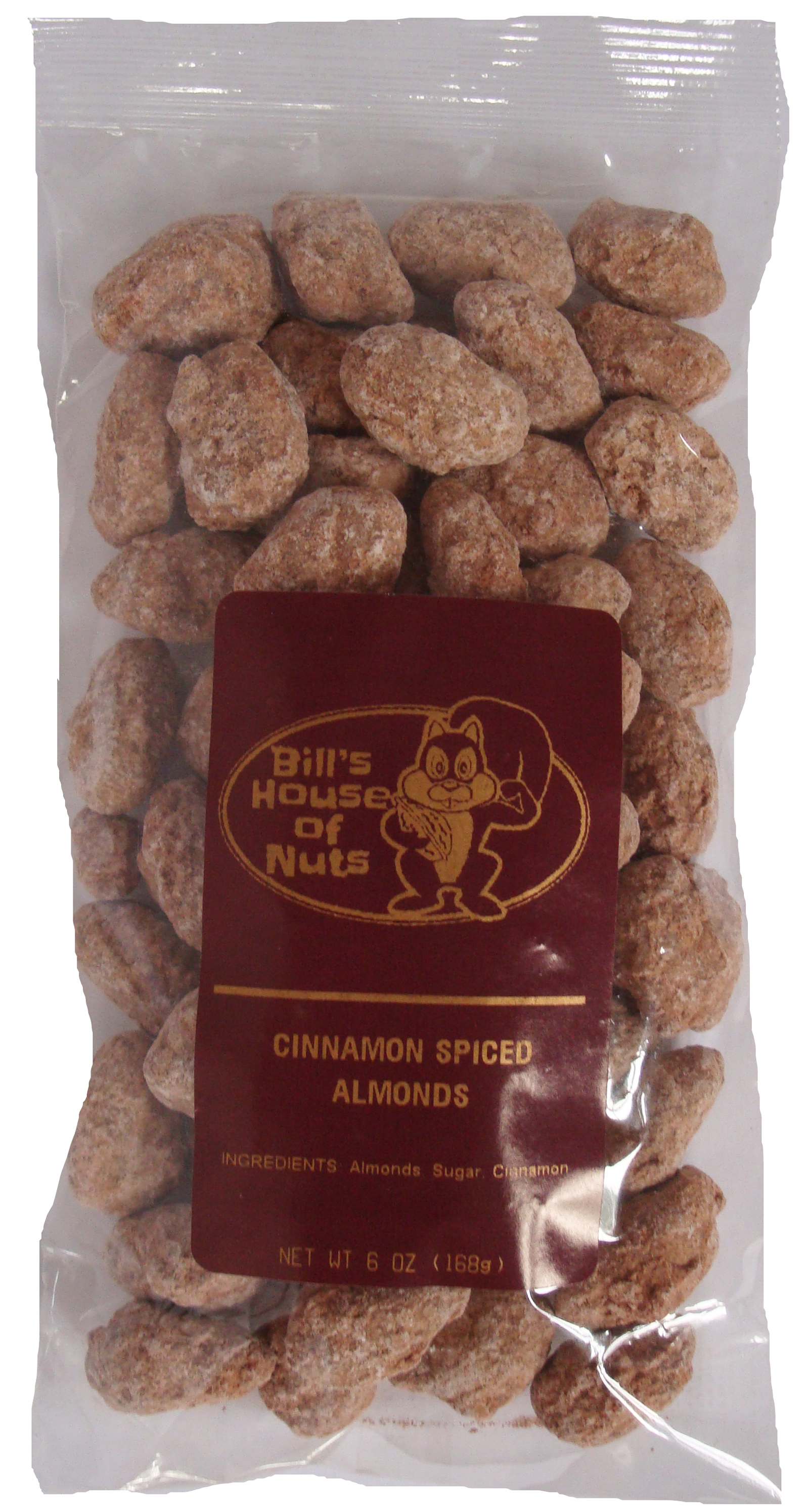 Cinnamon Spiced Almonds