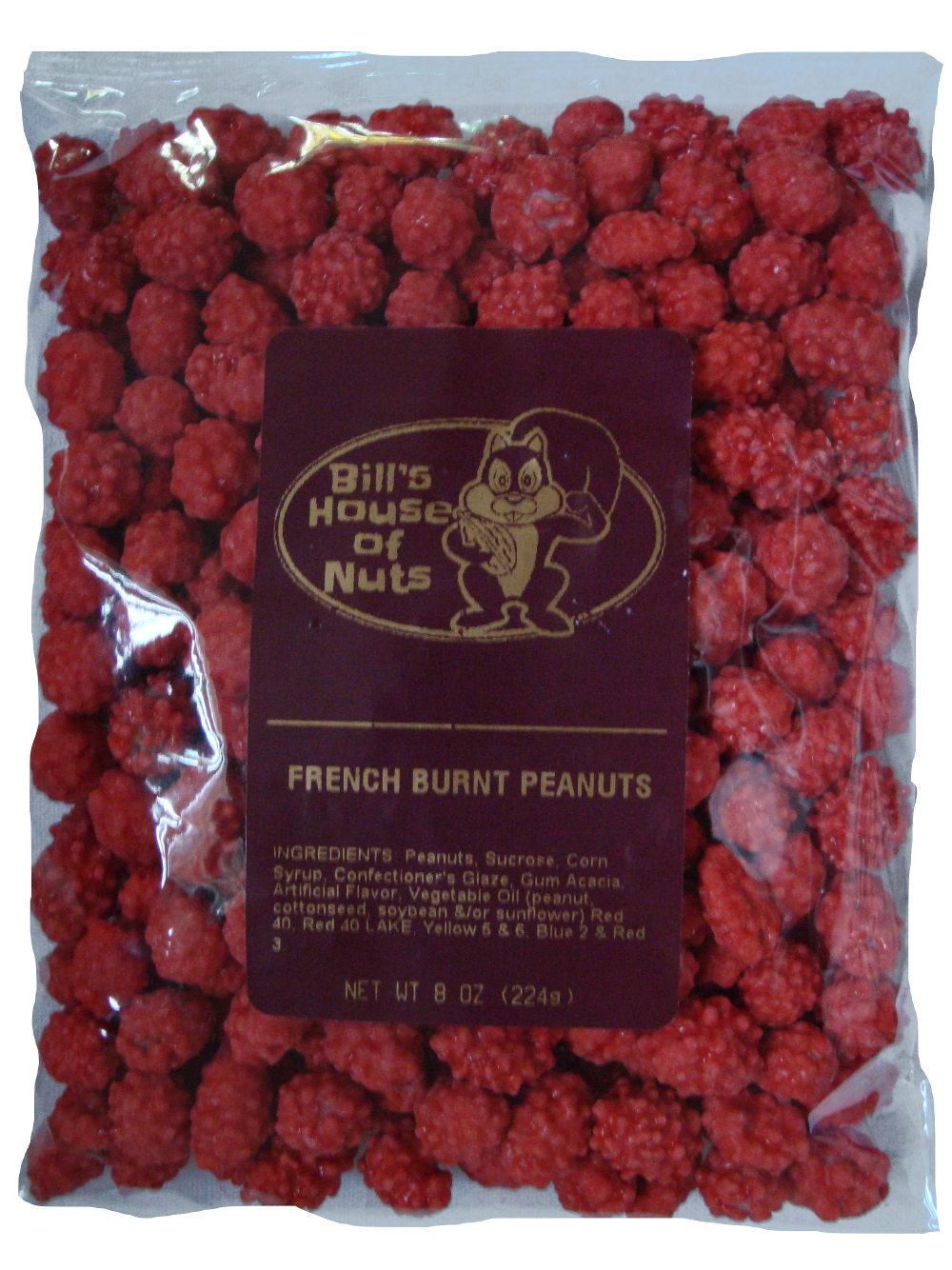 Spanish Peanuts, French Burnt - 8 oz bags